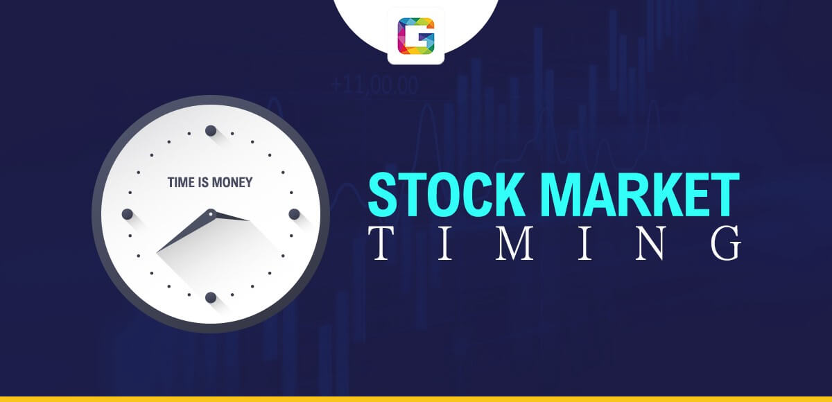 Stock Market Timings India