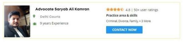 Advocate Saryab Ali Kamran