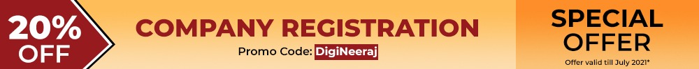new company registration in india